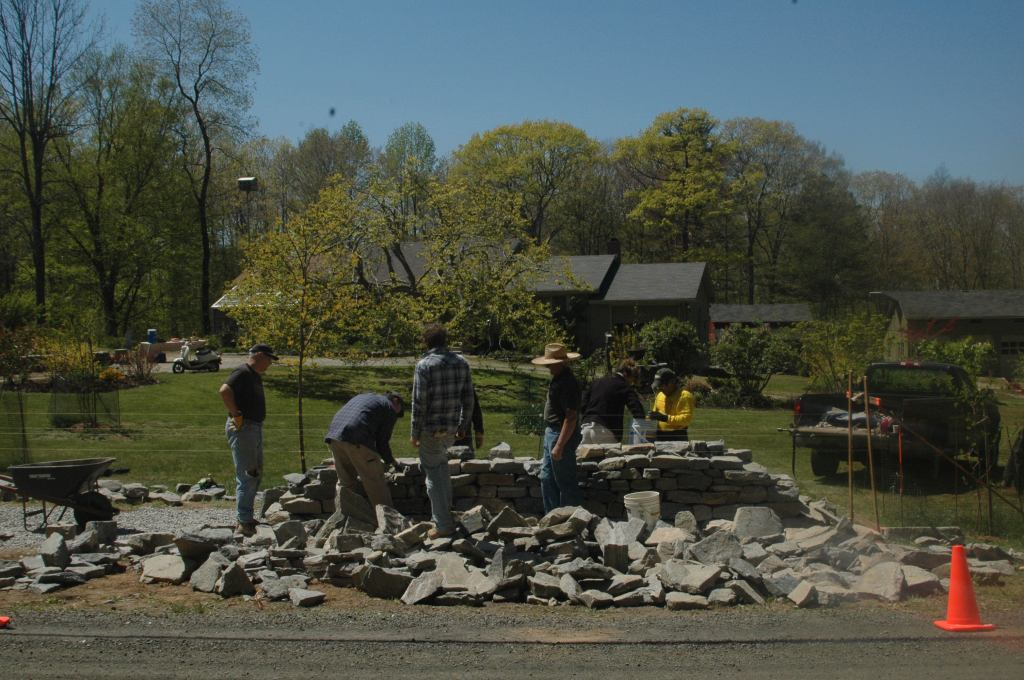 Dry Stone Wall Building Workshop_Spring 2012