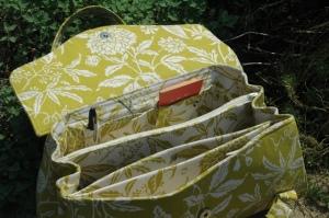 Interior photos of Amy Butler Blossom Bag